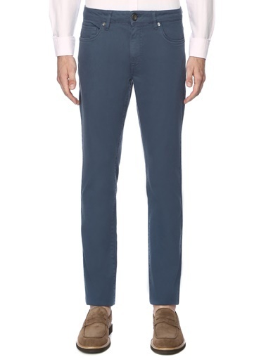George Hogg Klasik Pantolon Mavi